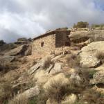 Gîte bardenas: sous le rocher