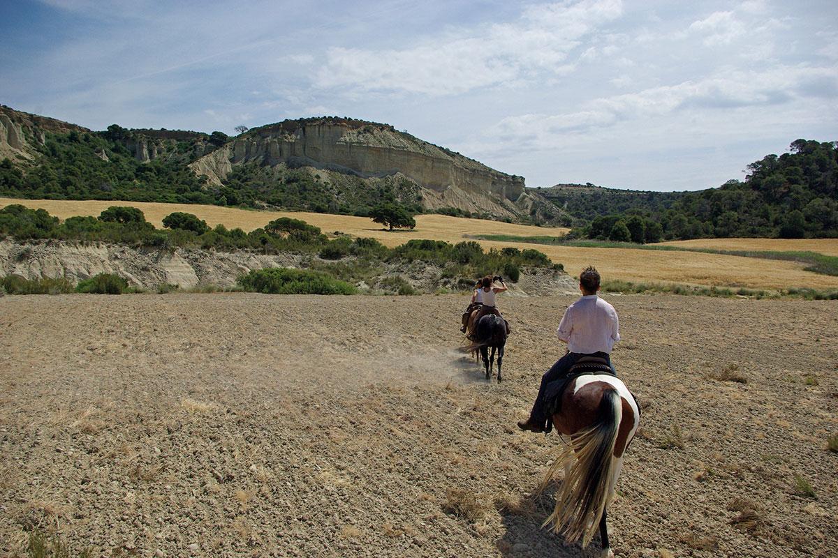 Désert des Bardenas à cheval: ITINÉRAIRE 1