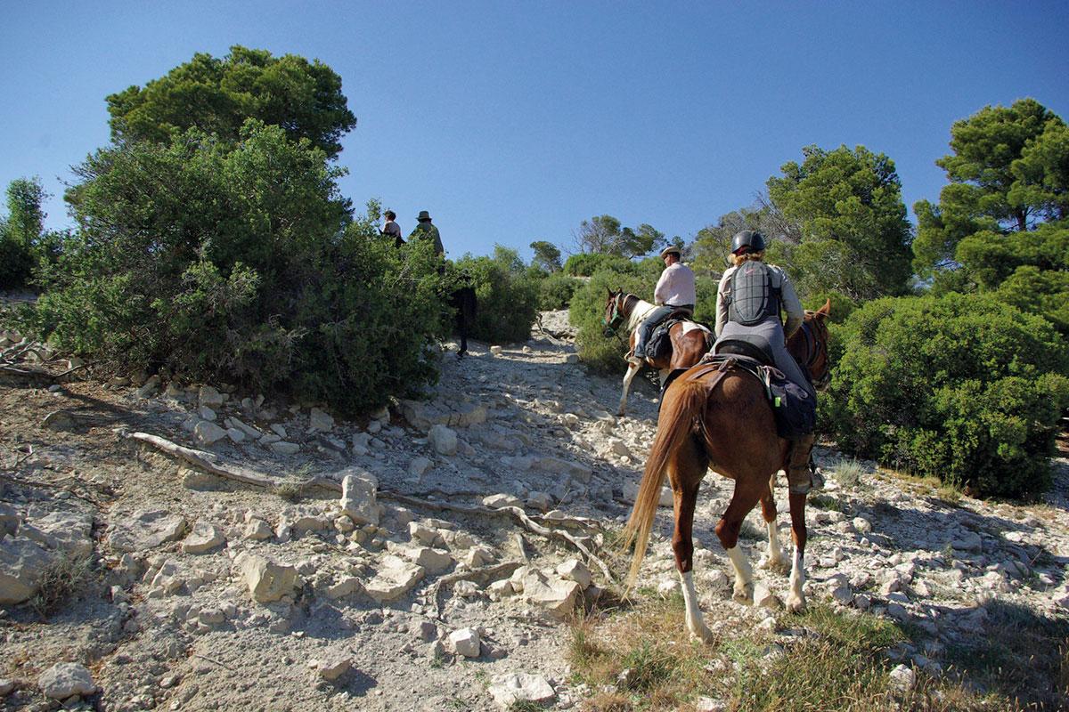 Désert des Bardenas à cheval: ITINÉRAIRE 6